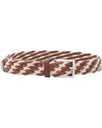 Luciano Barbera - Leather Rope Belt - Lyst