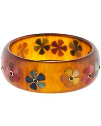 Mark Davis - Tortoise Bakelite Bangle - Lyst