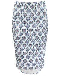 Basta Surf - High Waist Printed Pencil Skirt - Lyst