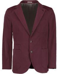 Brunello Cucinelli - Pick Stitched Jacket - Lyst