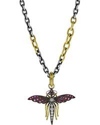 Sylva & Cie - Fairy Bug Pendant - Lyst