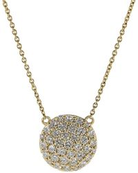 Dana Rebecca - Lauren Joy Xl Diamond Pave Necklace - Lyst