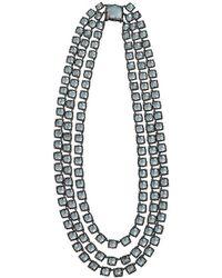 Larkspur & Hawk - Antoinette 3 Strand Quartz Necklace - Lyst
