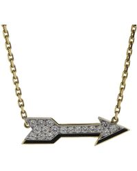 David Webb - Arrow Necklace - Lyst