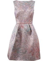 Monique Lhuillier - Jacquard Dress - Lyst