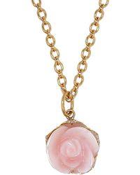 Irene Neuwirth | Pink Opal Flower Pendant | Lyst