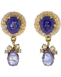 Federica Rettore - Tanzanite Earrings - Lyst