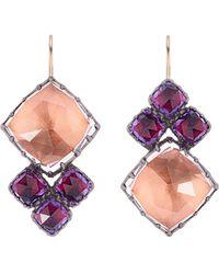 Larkspur & Hawk - Sadie Cluster Earrings - Lyst