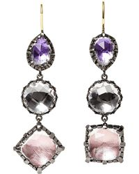 Larkspur & Hawk - Sadie 3 Drop Earrings - Lyst