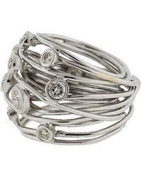 Boaz Kashi - Diamond Wire Wrap Ring - Lyst