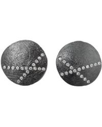 Todd Reed | White Diamond X Stud Earrings | Lyst