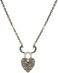 Sevan Biçakci - Large Aspen Leaf Lock Pendant - Lyst