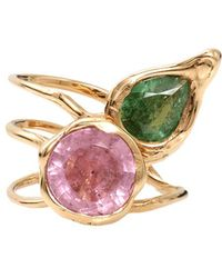 Lucifer Vir Honestus - Tourmaline Primavera Ring - Lyst