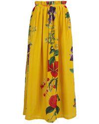 Carolina K - Gloria Flower Skirt - Lyst