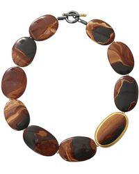 Yossi Harari - Tiger Eye Agate Necklace - Lyst