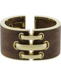 David Webb - Shoe Lace Cuff Bracelet - Lyst