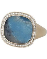 Monique Péan | Gilalite And White Diamond Ring | Lyst