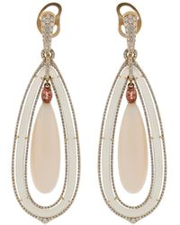 Inbar - Angelskin Coral Earrings - Lyst