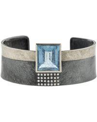 Todd Reed - Aquamarine Cuff Bracelet - Lyst
