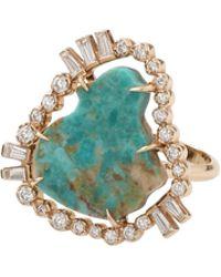Jordan Alexander   Turquoise Slice Ring   Lyst