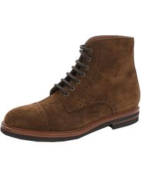 Brunello Cucinelli   Suede Ankle Boots   Lyst