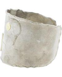 Boaz Kashi - Diamond Line Wide Cuff - Lyst