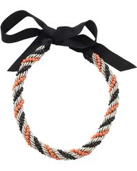 Lanvin - Virna Twisted Bead Necklace - Lyst