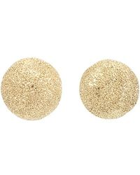 Carolina Bucci - Mirador Small Sparkly Gold Earrings - Lyst