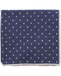 Eleventy - Pocket Square With Polka Dots - Lyst