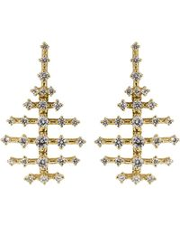 Fernando Jorge - Mini Disco Diamond Earrings - Lyst