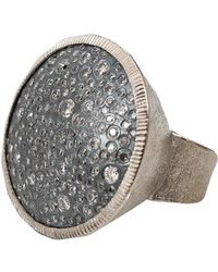 Todd Reed - Diamond Pave Circle Ring - Lyst