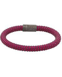Carolina Bucci - Magenta Twister Band Bracelet - Lyst