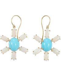 Andrea Fohrman - Sleeping Beauty Turquoise Earrings - Lyst