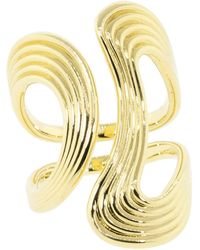 Fernando Jorge - Stream Lines Open Gold Ring - Lyst