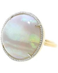 Irene Neuwirth - Opal And Diamond Pave Ring - Lyst