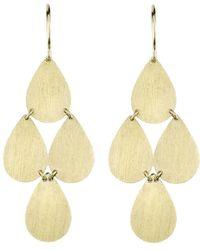 Irene Neuwirth - Four-drop Chandelier Earrings - Lyst