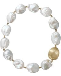 Yvel | Baroque Freshwater Pearl Necklace | Lyst
