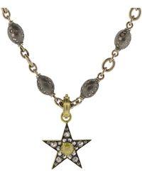 Sylva & Cie - Small Rough Diamond Star Pendant - Lyst