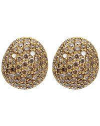 Yossi Harari - Small Cognac Diamond Roxanne Earrings - Lyst
