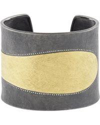 Todd Reed - White Diamond Cuff Bracelet - Lyst