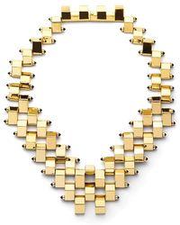 W. Britt - Big Block Statement Necklace - Lyst