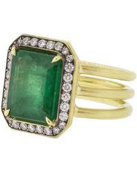 Sylva & Cie - Brazilian Emerald Ring - Lyst