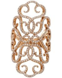 Inbar - Diamond Pave Lace Ring - Lyst