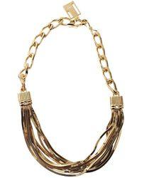 Lanvin - Art Deco Short Necklace - Lyst
