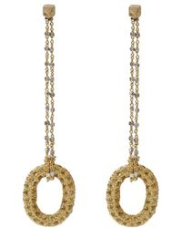 Carolina Bucci | 1885 Yellow Sapphire Link Earrings | Lyst