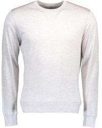 Brunello Cucinelli - Jersey Athletic Sweater - Lyst