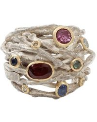 Boaz Kashi - Tourmaline Wire Wrap Ring - Lyst