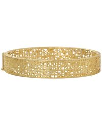 Penny Preville 18k Gold Diamond Lace Bangle lot76R