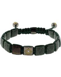 Shamballa Jewels - Green Marble Lock Bracelet - Lyst