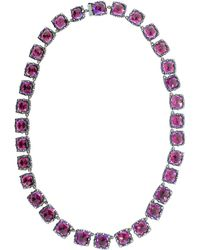 Larkspur & Hawk - Bella Graduated Riviere Necklace - Lyst